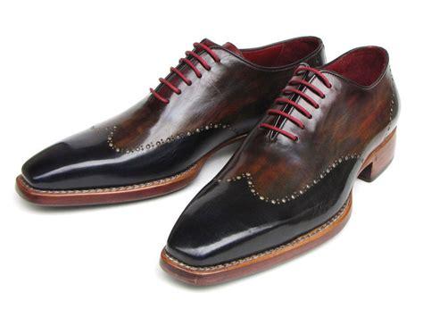 paul parkman shoes paul parkman s black wing tip oxford shoe made to