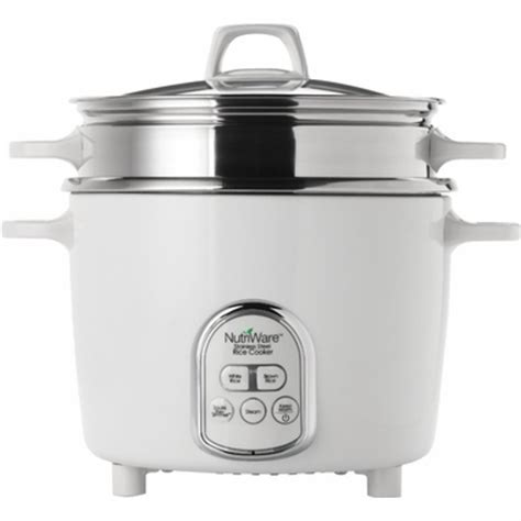 Rice Cooker Keramik aroma nutriware 20 cup stainless steel rice cooker nrc 690 sd
