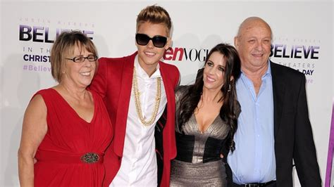 justin bieber s paternal grandparents not invited to his premiere oh no they didn t