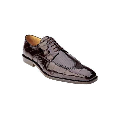 belvedere shoes belvedere luigi eel lizard lace up shoes brown