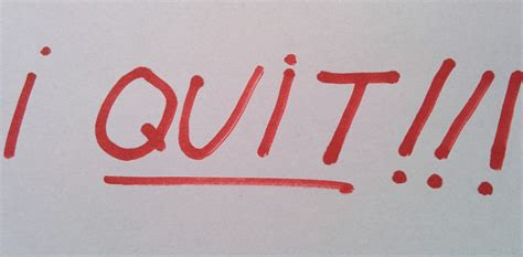 quit  crappy job    story
