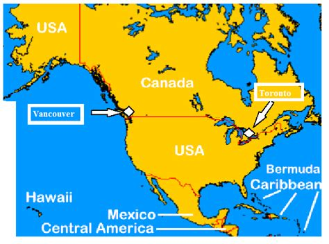 america map vancouver map of vancouver canada