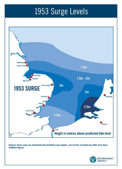 thames barrier worksheet the 1953 north sea floods floodlist