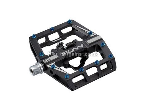 Funn Tactic Mtb Pedals Blue funn mamba one sided clip mtb pedals was sold for 163 60 green other colours