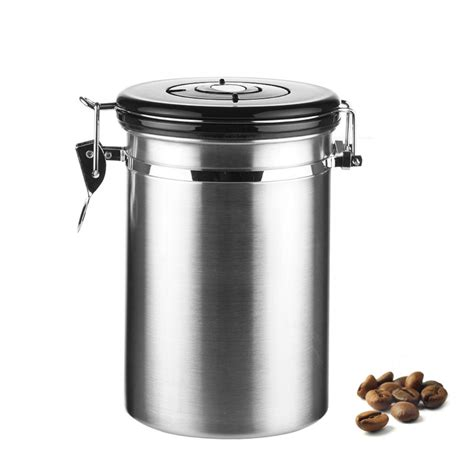 kitchen canisters stainless steel aliexpress com buy coffee tea sugar storage tanks sealed