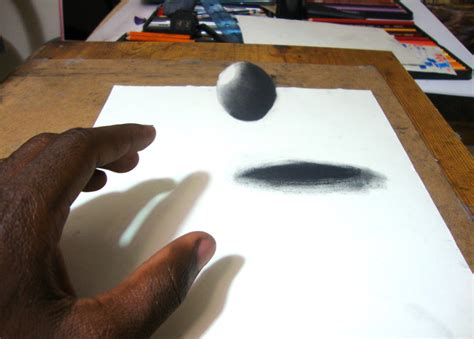 How To Make 3d Pictures On Paper - easy way to draw a 3d floating