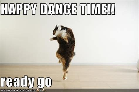 Happy Dance Meme - april 2012 the geekerella report