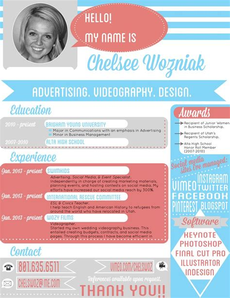 Interesting Resume Designs by Creative Resume I What The Hr Department Thought