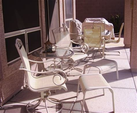 upholstery fabric mesa az patio sling fabric replacement f8 237 putty textilene 174 80