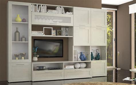 mobili a parete per soggiorno parete soggiorno l300 roma conforama