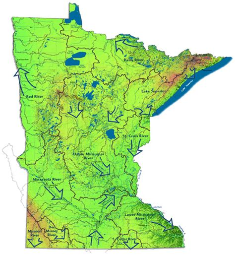 What Is Water Shed by Minnesota S Watersheds