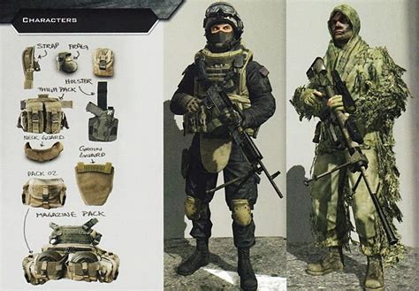 Patches Aufnäher Militär by Cod 4 Sas And Mw2 Shadow Company Loadout But In Female