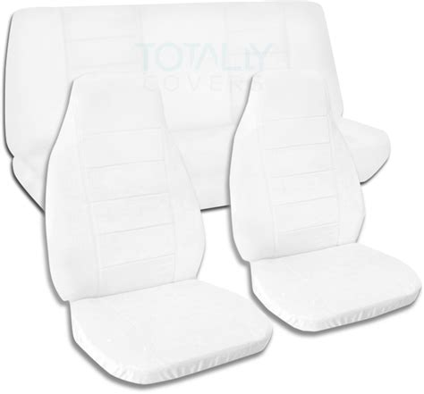 white seat covers for jeep wrangler jeep wrangler yj tj jk 1987 2017 solid color seat covers