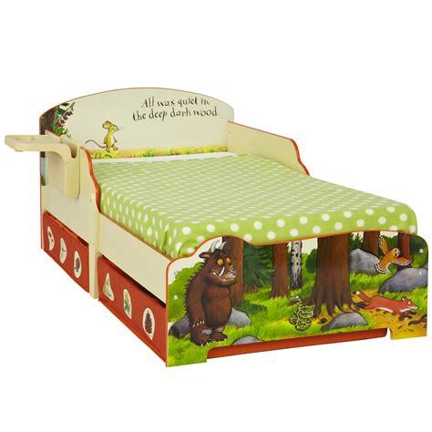 Gruffalo Bed Set The Gruffalo Toddler Bed With Shelf Storage New Ebay