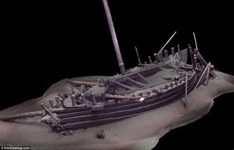 experts find graveyard of 60 preserved ancient shipwrecks - Old Boat Found Black Sea