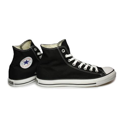 mens black sneakers converse all hi black white trainers sneakers shoes