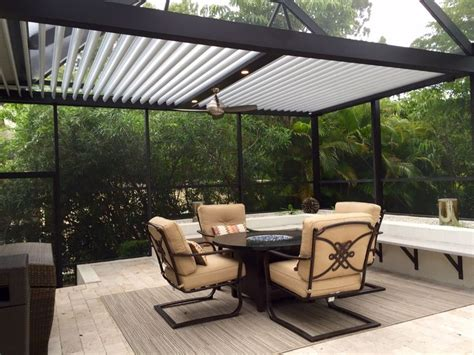 Adjustable Louvered Roof Outdoor Space Pinterest Adjustable Louvered Pergola