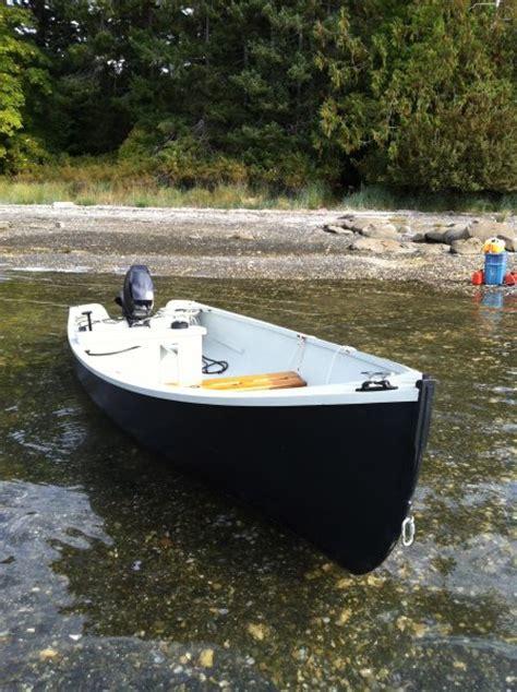 lobster boat skiff jericho bay lobster skiff woodenboat magazine