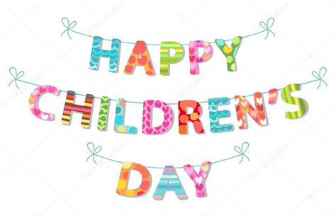 printable children s day banner cute childrens day banner stock vector 169 ishkrabal
