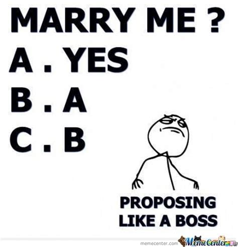 Marry Me Meme - marry me by itoldchaonce meme center