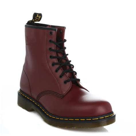 docs boots dr martens mens womens docs leather ankle boots lace up