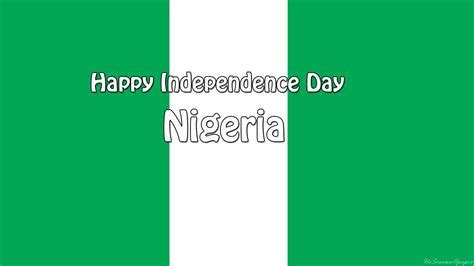 Independence Day Nigeria Flag images and Wallpapers 2017