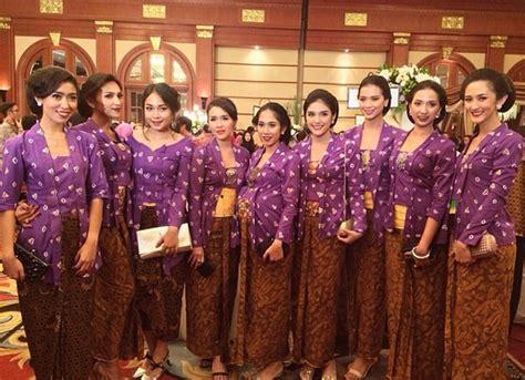 Kebaya Bordir Kutu Baru Warna Jumbo Lengan 3 4 Kode Sr 371 model baju kebaya kutu baru untuk bridesmaid seanggun ra