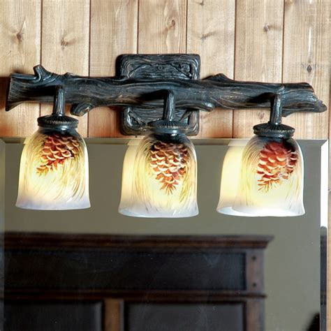 Rustic Bathroom Lights Rustic Bathroom Lighting Reclaimed Furniture Design Ideas Page 2