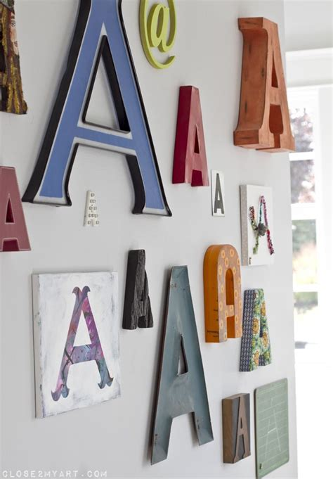 17 best ideas about monogram wall letters on