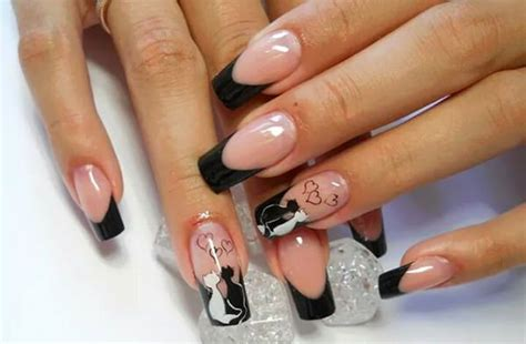 white and black pattern nails 50 incredible black and white nail designs