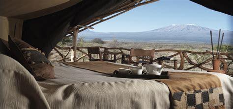 Dining Area by Satao Elerai Camp Satao Elerai Safari Camp Amboseli