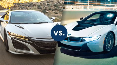 Acura Test Drive Gift Card - comparison 2017 acura nsx vs 2017 bmw i8 friendly acura of middletown
