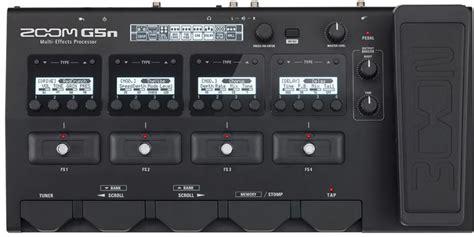 Zoom G5n Guitar Multi Effect zoom g5n guitar multi effects processor guitar co uk