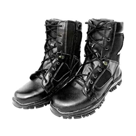 Sepatu Boots Hitam jual mandien s pdl gegana kanvas sepatu boots pria hitam harga kualitas terjamin
