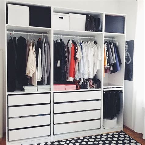 ikea open closet wardrobe systems ikea pax wardrobe and closet on pinterest