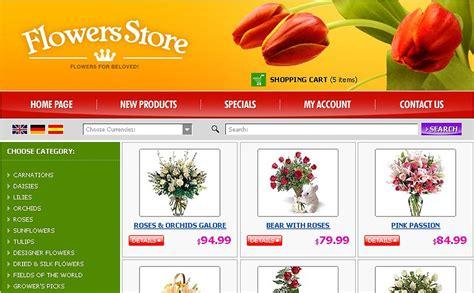 Flower Shop Website Template 14704 Flower Website Templates