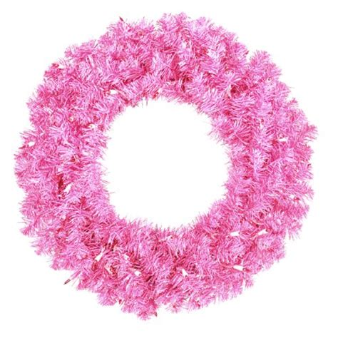 pink christmas wreath ideas