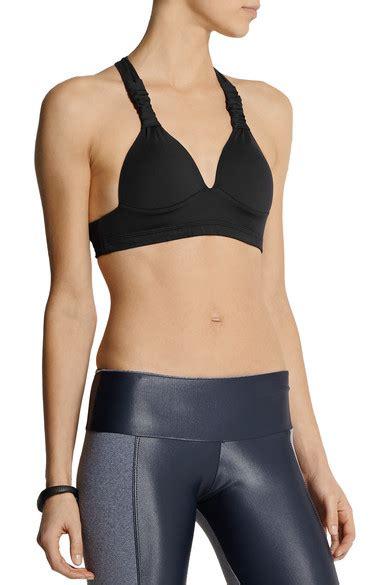 Vogo Stretch Jersey Sport Bra bodyism contour stretch jersey sports bra net a