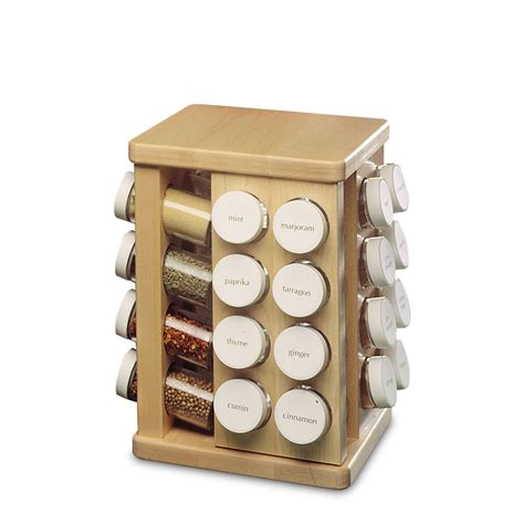 Jk Spice Rack j k maple spice rack carousel 32 bottle cutlery and more