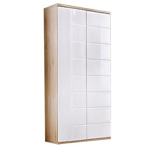 canapé 80 cm profondeur armoire 2 portes design quot ontario quot 80cm blanc