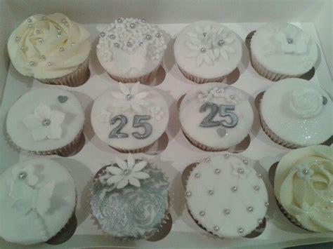 Wedding Anniversary Cupcakes by Silver Wedding Anniversary Cupcakes Saucy Sue S Cupcakes