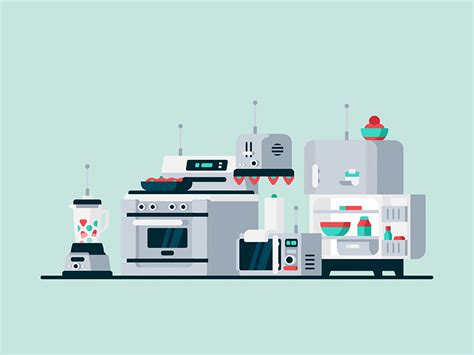 kitchen of the future kitchen of the future by kevin yang dribbble