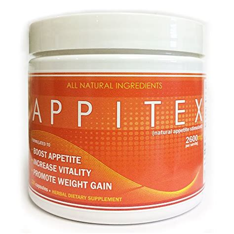 supplement to increase appetite appitex weight gain pills for appetite