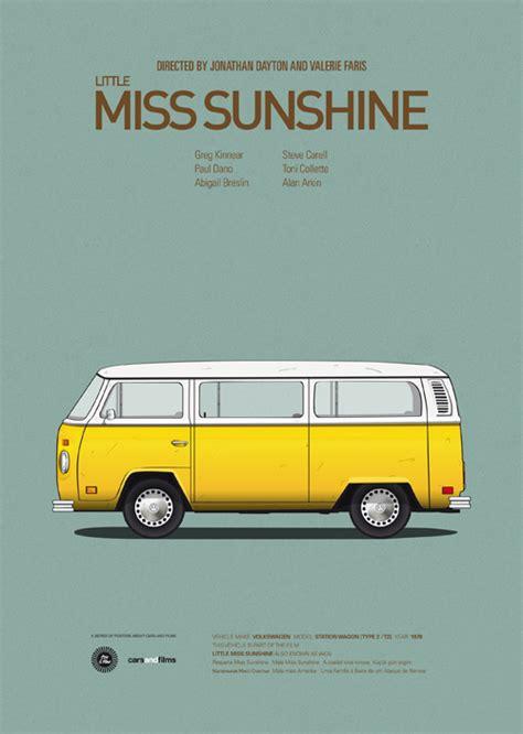 re design posters de filmes e seus carros ou carros e
