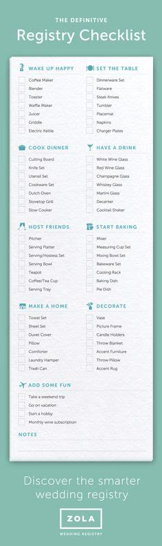 Wedding Checklist Registry by Your Essential Wedding Registry Checklist Wedding