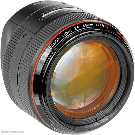 Lens Stop Only Stop Granmax Up canon 50mm f 1 0 review