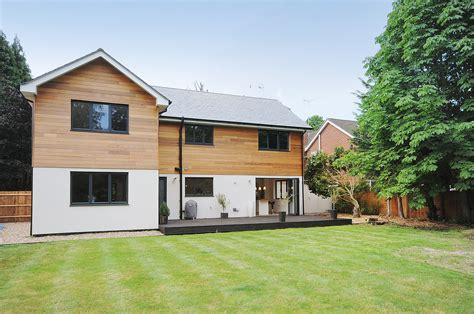 convert traditional home to modern chalet bungalow extensions pitch roof joy studio design