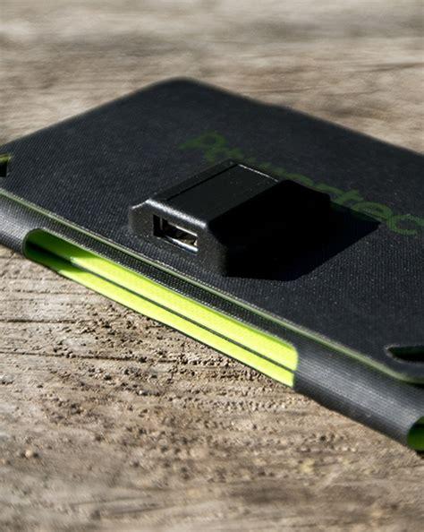 chargeur solaire semi rigide pocket power
