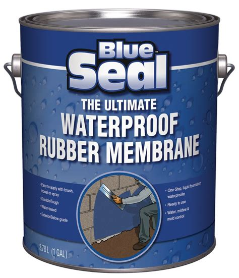 blue seal waterproofing rubber membrane installation
