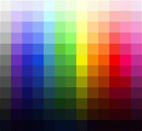 tavola cromatica dei colori la fisica colore